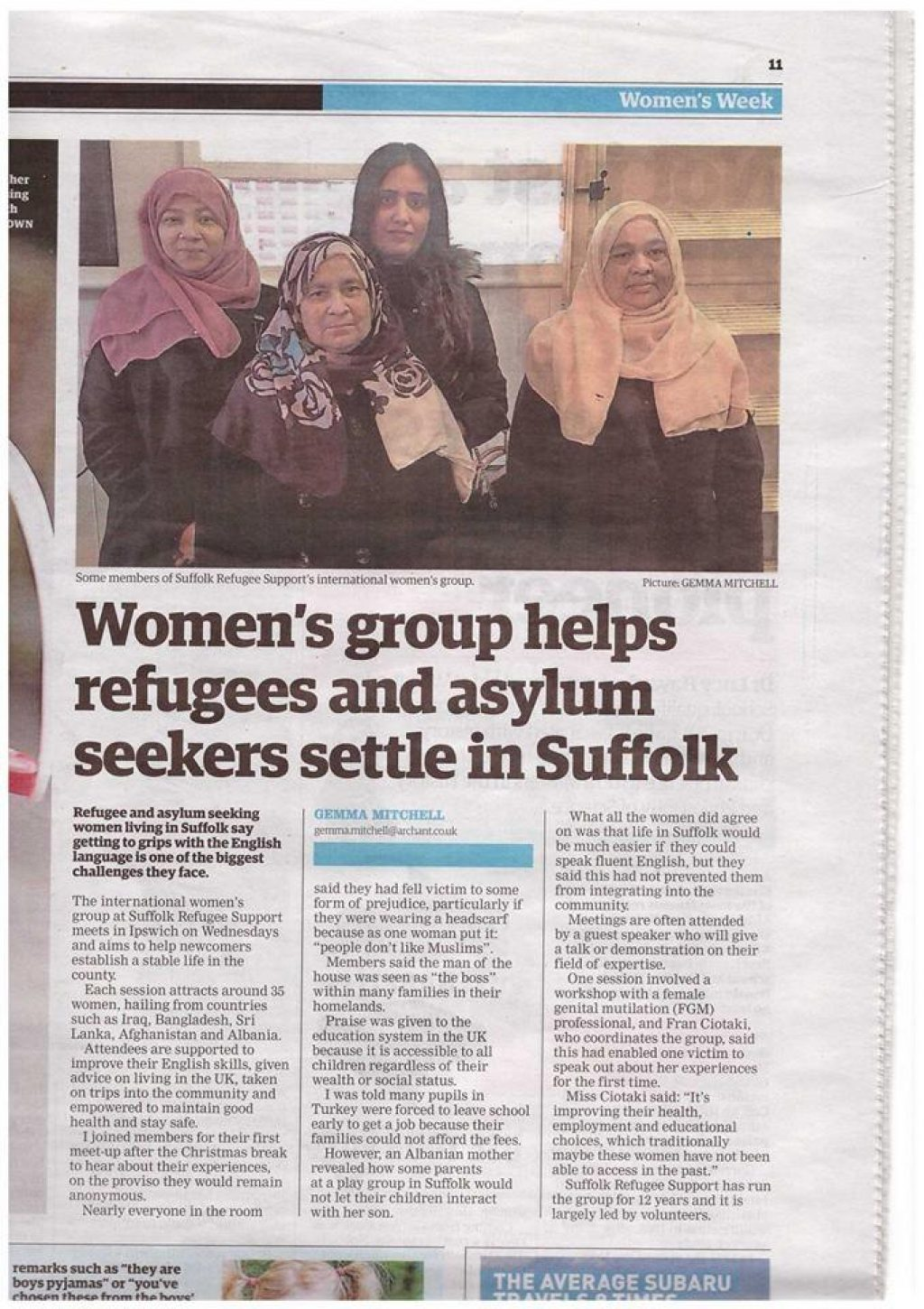 Bury Srs Womens Groups